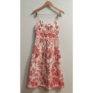 Liz Claiborne garden party dress